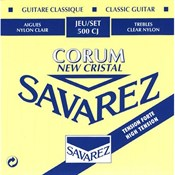 Savarez 500CJ Cristal Corum Hard Tension Klasik Gitar Takım Tel