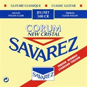 Savarez 500CR Cristal Corum Normal Tension Klasik Gitar Takım Tel